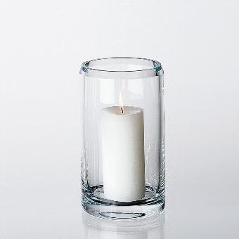 Salvatore vase/lantern crystal H 25 D 15 cm