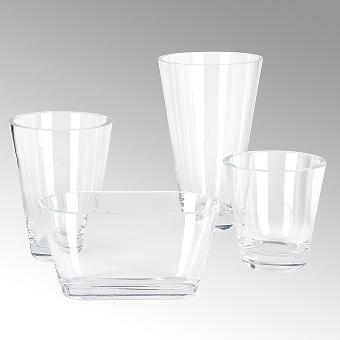 David Vase crystal H 4o D 24 cm