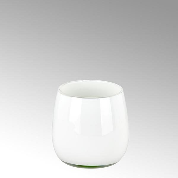 Pisano vase H18 D17 small white