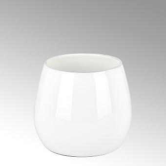 Pisano vase H24D25 medium white