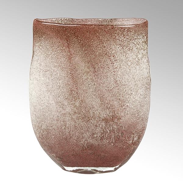 Perugino vase, oval, copper