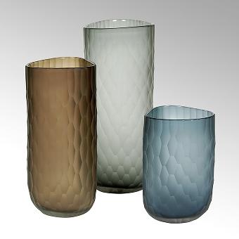 Tura Vase mit Schliff