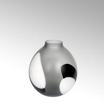 Morandi vase glass H 33,5 cm, D 29,5 cm
