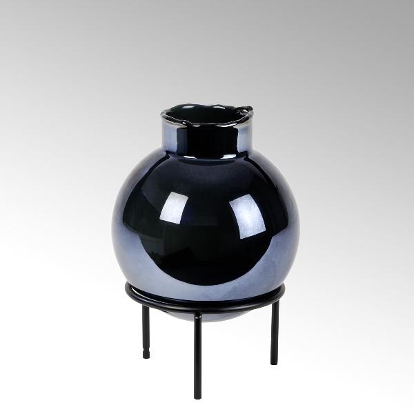Plato glass vase small