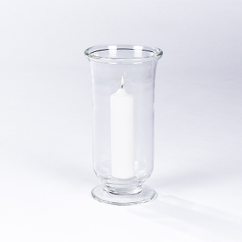 Venezia stormlantern clearglass H 37 D 19 cm