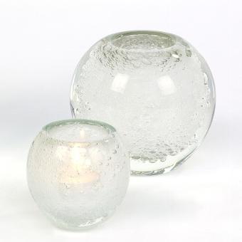 Salviato stormlight small H10 D9 cm white