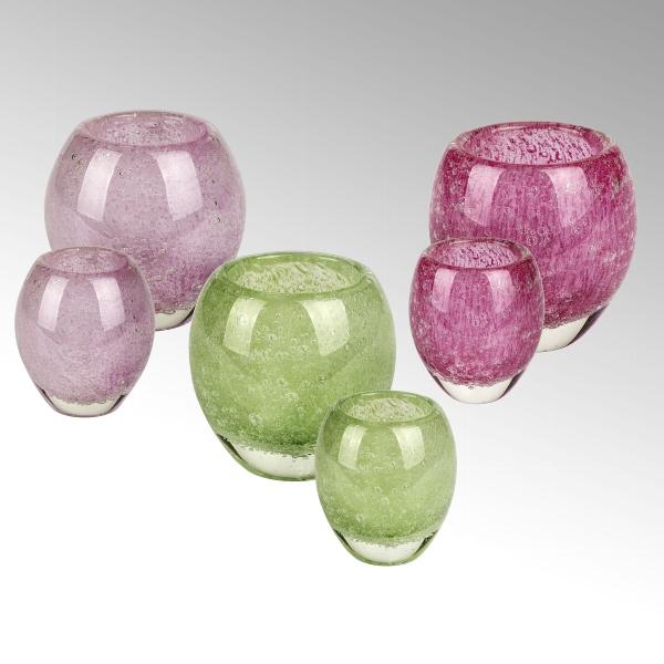 Salviato stormlight/vase H12 D12 cm limone