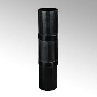 Bramante Vase Opaqueglas mit Schliff