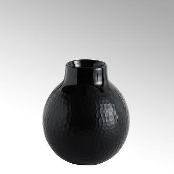 Borromini Vase Opaqueglas mit Schliff