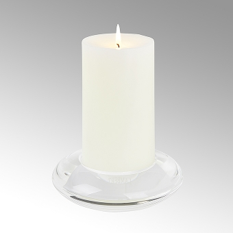 Kyo candle holder crystall glass , clear