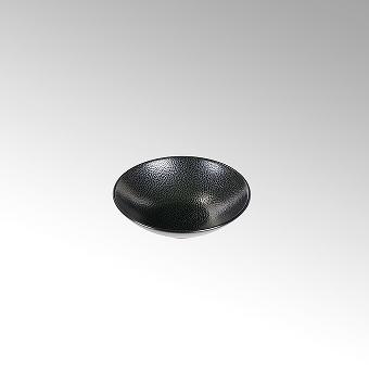 Kaori bowl D14 black metallic/ray stoneware