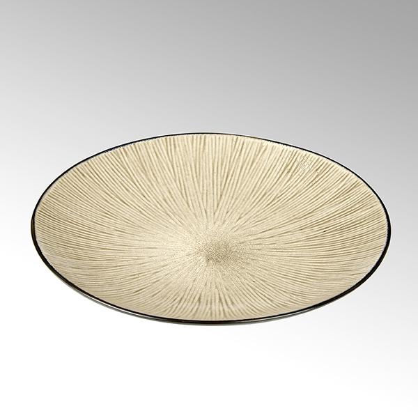 Kalimera plate starpattern desert sands D23 H3,5cm