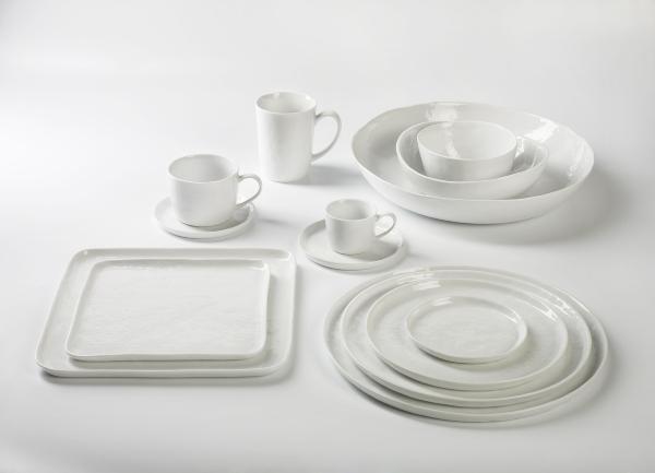 Piana milk jug porcelain, white