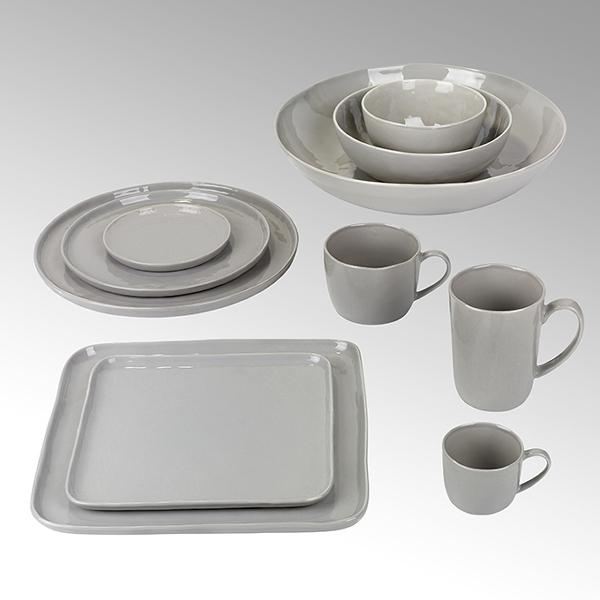 Piana bowl, stoneware, grey, H7 D14cm