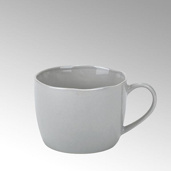 Piana coffee/tea cup, stoneware, grey,
