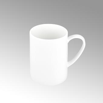 Serene, Kaffeebecher, rund