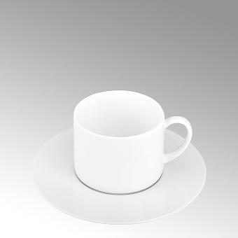 Serene, tea/coffee saucer
