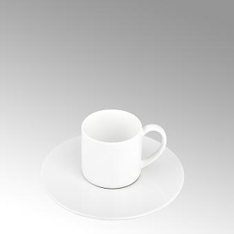 Serene, espresso saucer