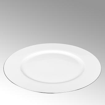 Serene, plate, round,