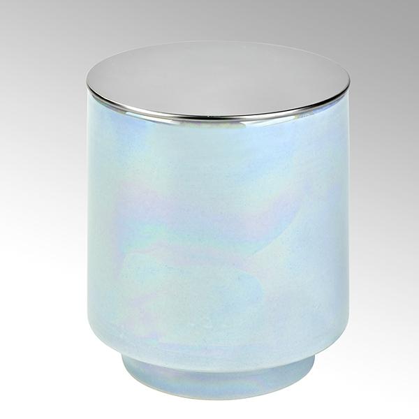 Editta Duftkerze im Keramikgefäß mit Metalldeckel
