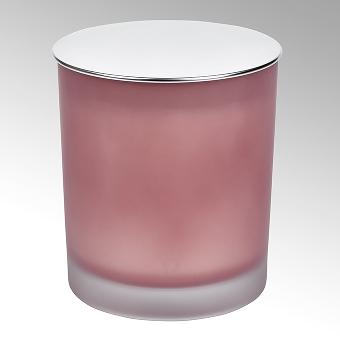 Emilia Duftkerze im Glasgefäß mit Metalldeckel