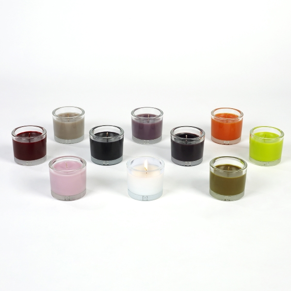 Estella Duftkerze in Glas