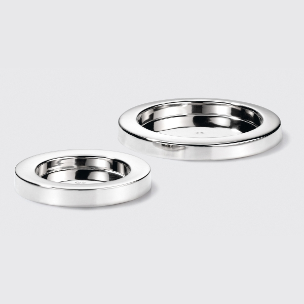 Sina candle holder nickel plated D16 inside D12,3c