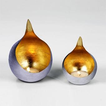 Caldera storm lantern iron small