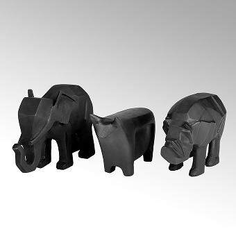 Elefant Figur Aluminium Sandguß