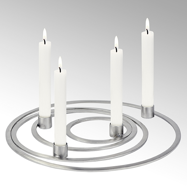 Areum ring candle holder set