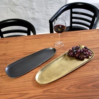 Siargao tray, bronze antique