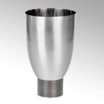 Oslo vase/vessel stainless steel