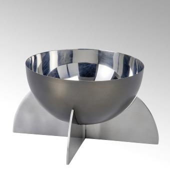 Alta round deep bowl, stainless steel