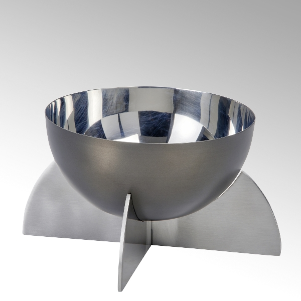 Alta bowl/tray big, stainless steel
