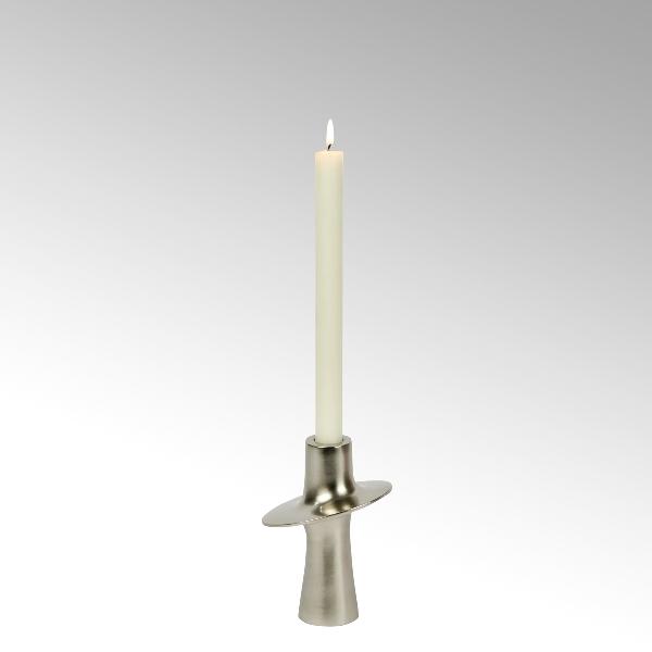 Proton slanted candle holder aluminium