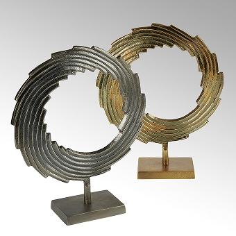 Mulinello Deko-Objekt Aluminium, bronze
