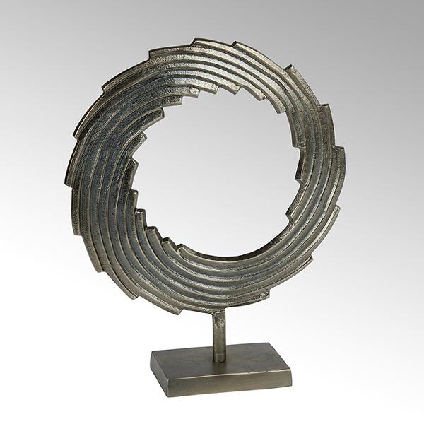 Mulinello Deko-Objekt Aluminium, graphit