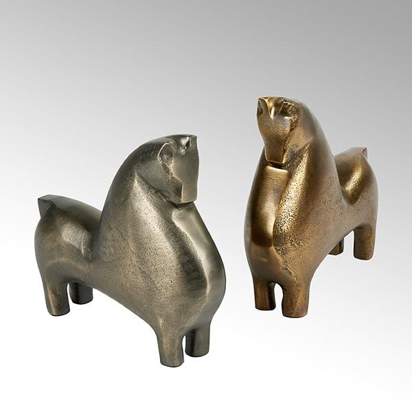 Totilas decorative object aluminium casted