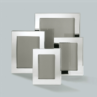 Savannah picture frame for 20x25 cm, silverplated