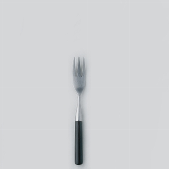 Daily pastry fork stainless steel L 15 cm black