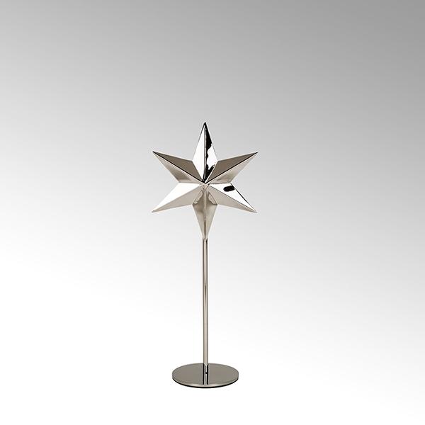 Tashi tealightholder star stainless steel