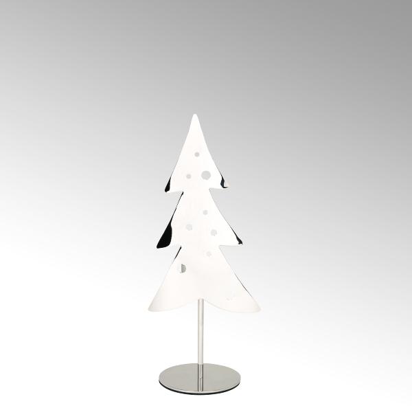 Woody Teelichthalter Weihnachtsbaum Edelstahl