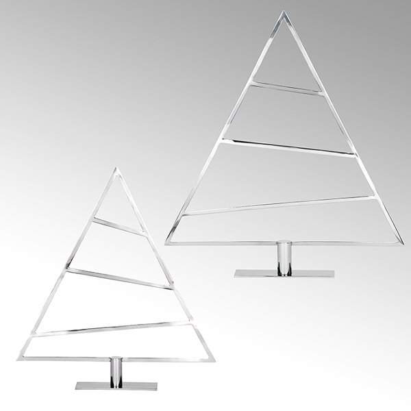 Pinus Weihnachtsbaum Edelstahl