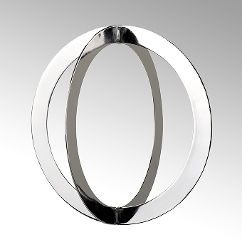 Linnea 4 part Xmas ornament steel