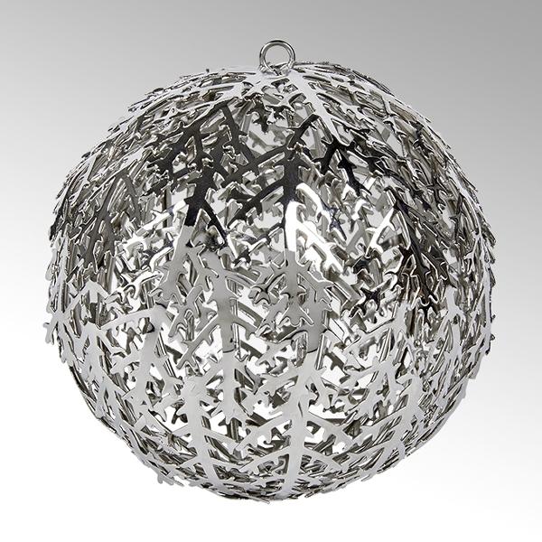 Cristallo Kugel-Ornament, Eisen