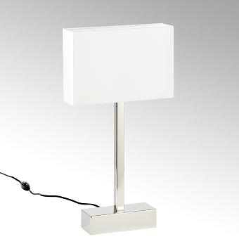 Presidio table lamp with shape colour creme