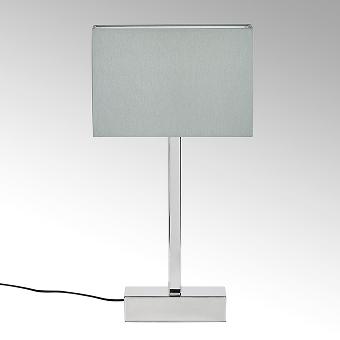 Presidio table lamp with shape colour grey