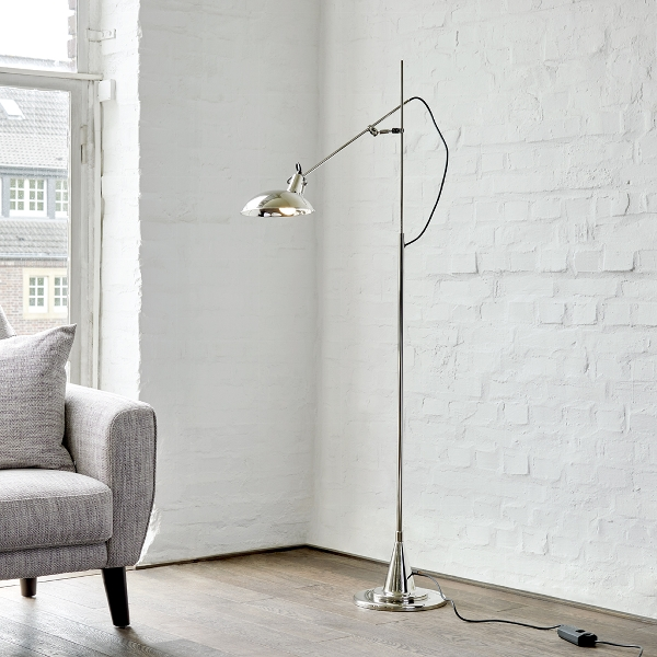 Switch On 1 arm standing lamp