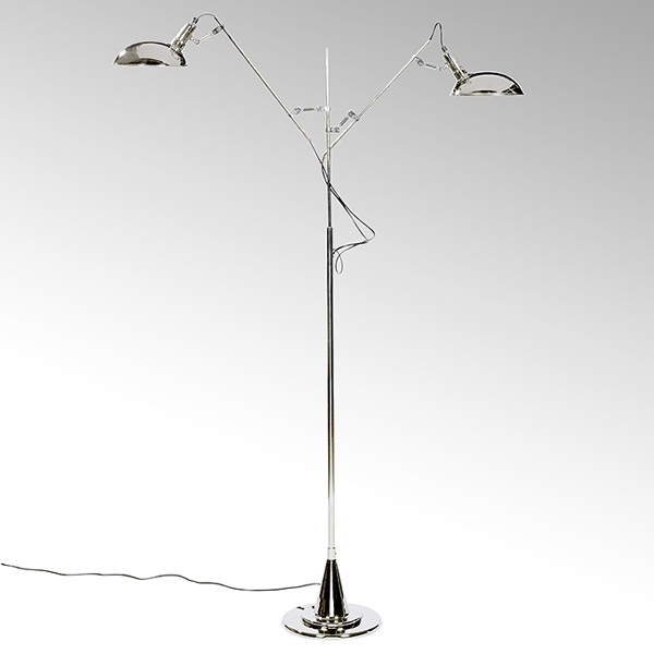 Switch On 2 arm standing lamp