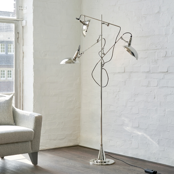 Switch On 3 arm standing lamp